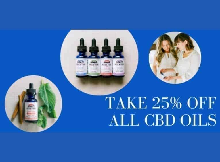 25 off all CBD Oils at Mission Farms CBD insta