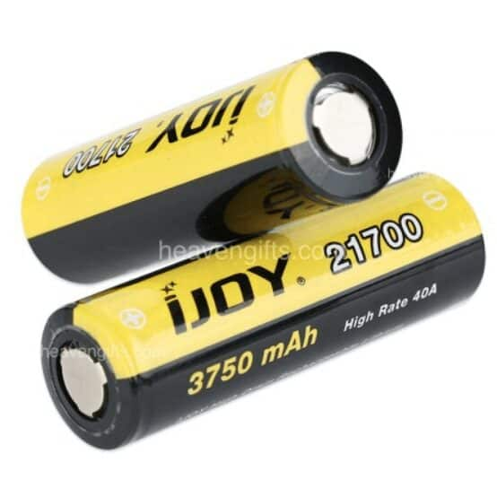 IJOY 21700 High Drain Li-ion Battery 40A 3750mAh image