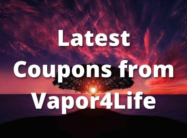 Latest Coupons from Vapor4Life image