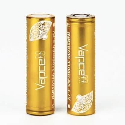 Vapcell INR20700 High-drain Li-ion Battery 30A 3100mAh image