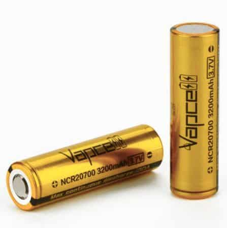 Vapcell NCR20700 High-drain Li-ion Battery 30A 3200mAh image
