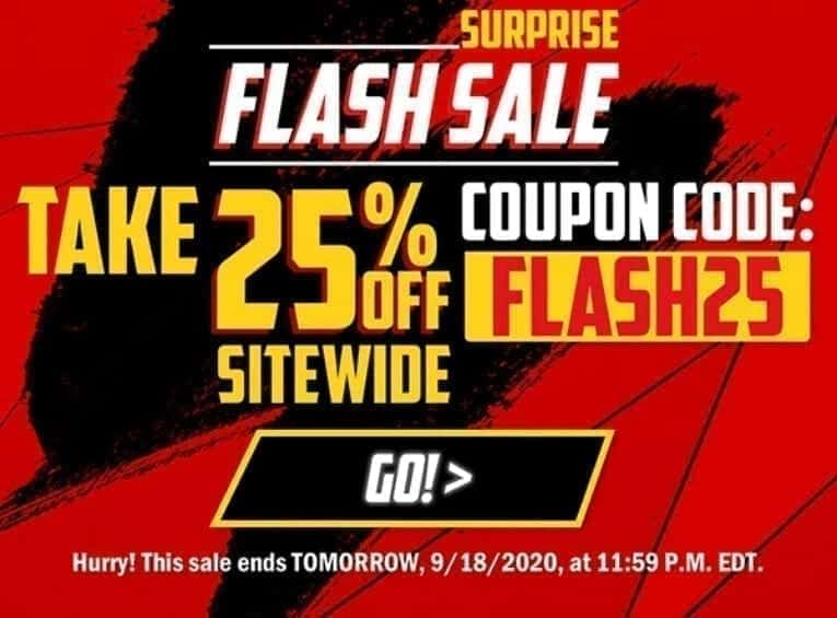 25 Off Flash Sale image