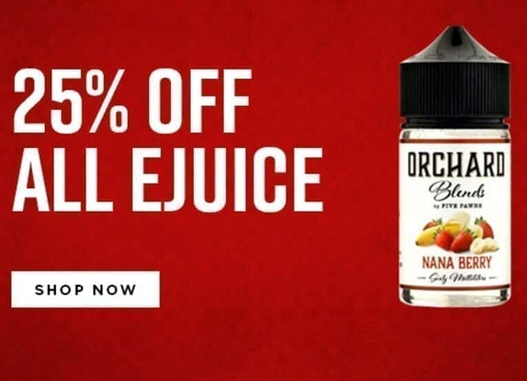 25 off ejuice image