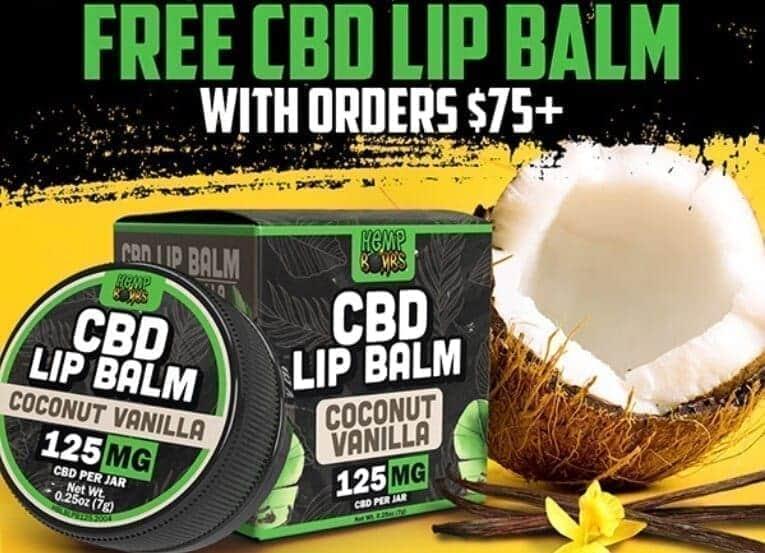 FREE CBD Lip Balm image