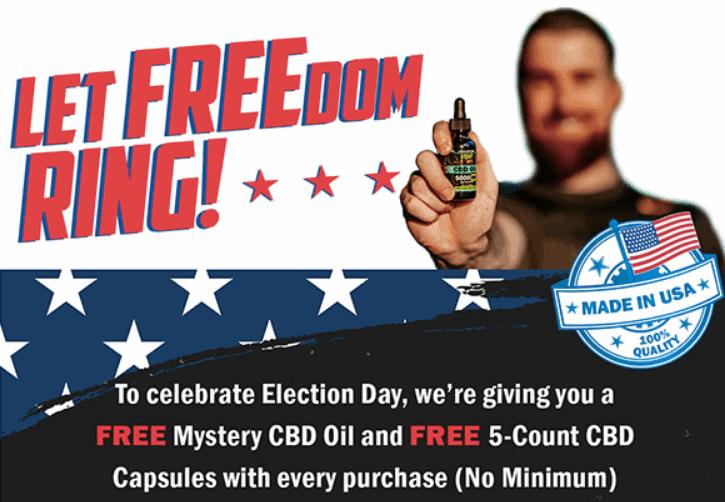 FREE Mystery CBD Oil & Capsules image