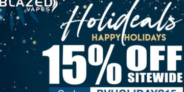 Blazed Vapes Holidays sale-Max-Quality image