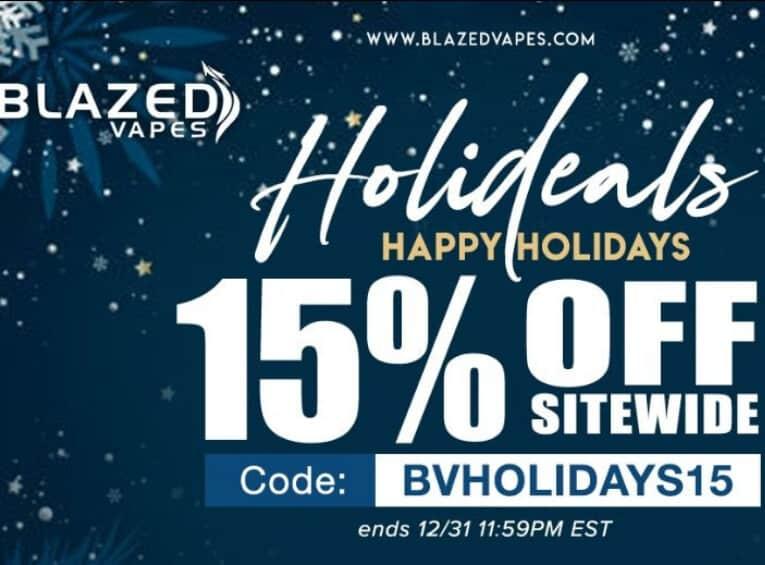 Blazed Vapes Holidays sale-Max-Quality image