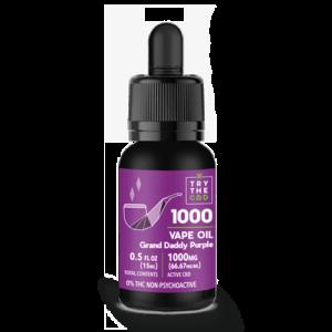 1000MG Grand Daddy Purple CBD Vape Oil