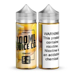 100ml Juice Co - Lemon Tart - 100ml / 0mg