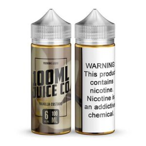 100ml Juice Co - Vanilla Custard - 100ml / 0mg