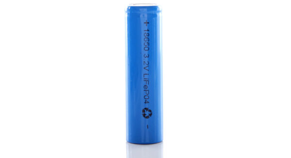 18650 3.2V 1350mAh Rechargeable Lithium LiFePO4 Battery