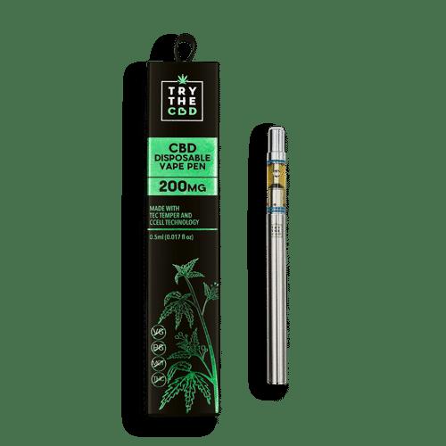 200mg CBD Disposable Vape Pen Pineapple Express