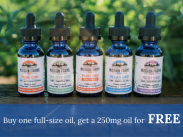 250mg CBD Oil for FREE-Max-Quality image