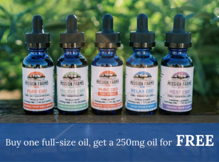 250mg CBD Oil for FREE-Max-Quality image