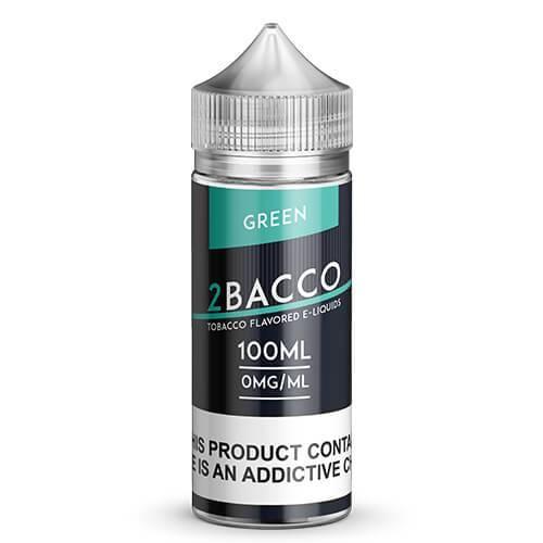 2Bacco By Art of E-Liquids - Green - 100ml / 0mg