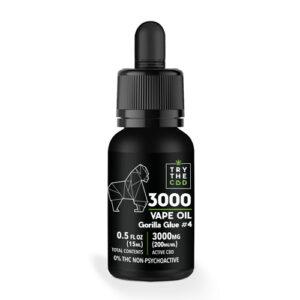 3000MG GG #4 CBD Vape Oil