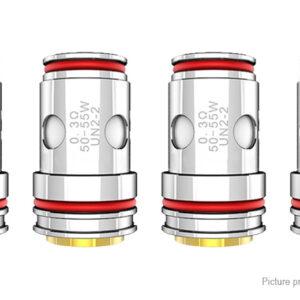 4PCS Crown 5 Replacement UN2-2 Dual Meshed Coil Unit