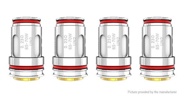 4PCS Crown 5 Replacement UN2 Single Meshed Coil Unit