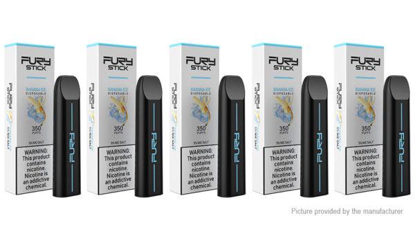 5PCS Authentic Fury Stick 240mAh Disposable E-Cigarette