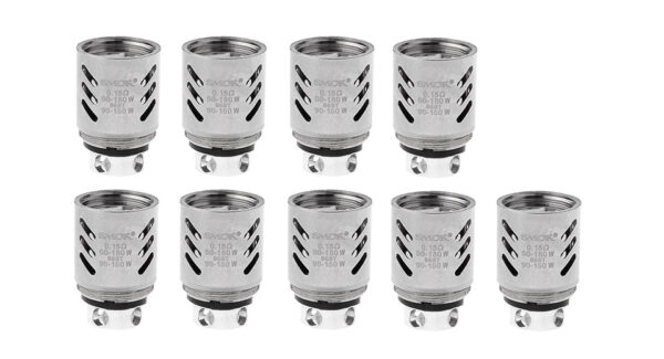 9PCS Authentic Smoktech SMOK TFV8 Clearomizer Replacement V8-Q4 Coil Head