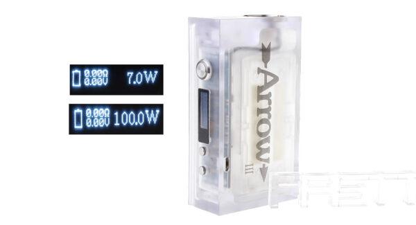 ARROW III 100W VW Variable Wattage APV Box Mod