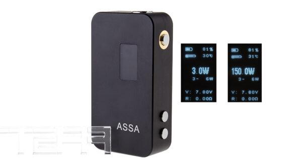 ASSA Smart-150 VW Variable Wattage 3-150W APV Box Mod