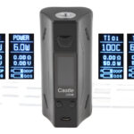 ATVS Castle 225W VW TC APV Box Mod