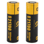 AVB 21700 3.7V 4000mAh Rechargeable Li-ion Battery (2-Pack)