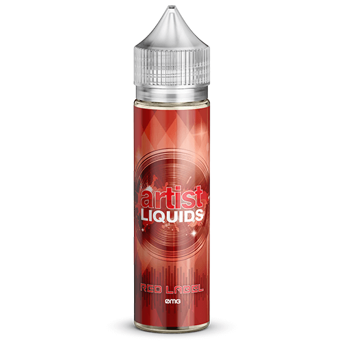 Artist Liquids - Red Label - 60ml / 3mg