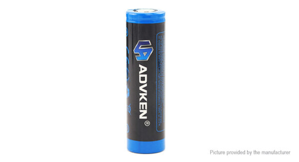 Authentic ADVKEN IMR 18650 3.7V 2500mAh Rechargeable Battery