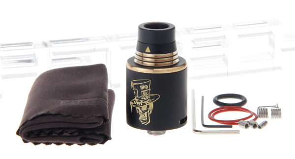 Authentic ADVKEN Mad Hatter Mini RDA Rebuildable Dripping Atomizer