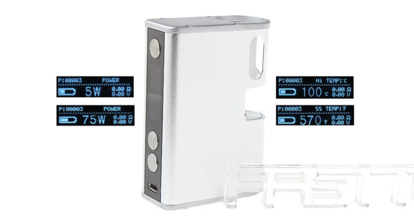 Authentic ATHENA eNVy Plus 75W VW TC APV Box Mod