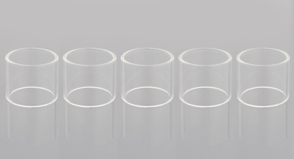 Authentic Amusing Glass Tank for SMOK TFV4 Mini Clearomizer (5-Pack)