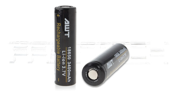 Authentic Aweite AWT 18650 3.7V 3400mAh Rechargeable Li-ion Batteries (2-Pack)