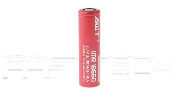 Authentic Aweite AWT IMR 18650 3.7V 3000mAh Rechargeable Li-Mn Battery