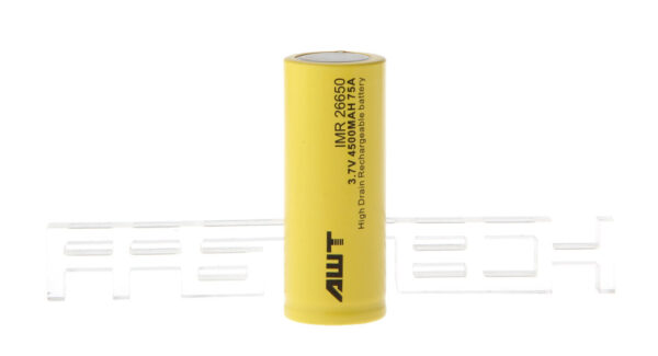 """Authentic Aweite AWT IMR 26650 3.7V """"4500mAh"""" Rechargeable Li-Mn Battery"""