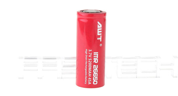 """Authentic Aweite AWT IMR 26650 3.7V """"5200mAh"""" Rechargeable Lithium Battery"""