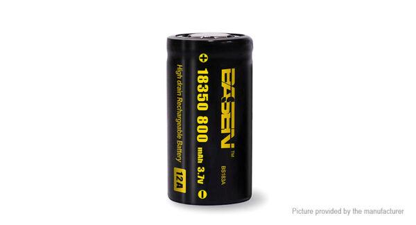 Authentic BASEN IMR 18350 3.7V 800mAh Rechargeable Li-ion Battery