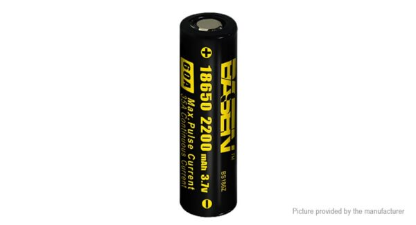 Authentic BASEN IMR 18650 3.7V 2200mAh Rechargeable Li-Mn Battery