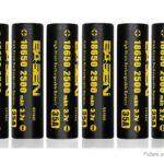 Authentic BASEN IMR 18650 3.7V 2500mAh Rechargeable Li-Mn Battery (8-Pack)