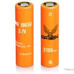 Authentic BASEN IMR 18650 3.7V 2700mAh Rechargeable Li-ion Batteries (2-Pack)