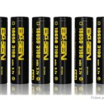Authentic BASEN IMR 18650 3.7V 2800mAh Rechargeable Li-Mn Battery (8-Pack)