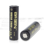 Authentic BASEN IMR 18650 3.7V 2800mAh Rechargeable Li-ion Batteries (2-Pack)