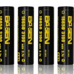 Authentic BASEN IMR 18650 3.7V 3100mAh Rechargeable Li-Mn Batteries (4-Pack)