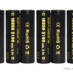Authentic BASEN IMR 18650 3.7V 3100mAh Rechargeable Li-Mn Battery (8-Pack)