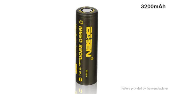 Authentic BASEN IMR 18650 3.7V 3200mAh Rechargeable Li-ion Battery