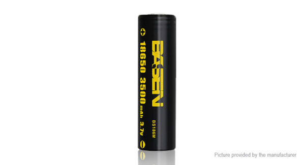 Authentic BASEN IMR 18650 3.7V 3500mAh Rechargeable Li-Mn Battery
