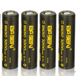 Authentic Basen IMR 18650 3.7V 3100mAh Rechargeable Li-ion Battery (6-Pack)