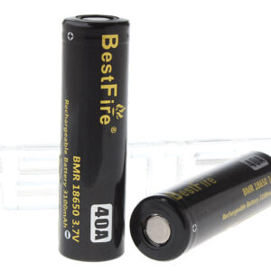 Authentic BestFire BMR 18650 3.7V 3100mAh Rechargeable Li-ion Battery (2-Pack)
