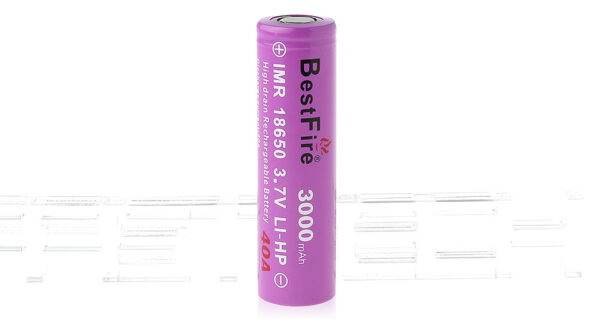 Authentic BestFire IMR 18650 3.7V 3000mAh Rechargeable Li-HP Battery
